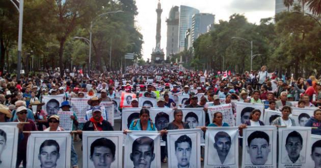 México: El caso de los estudiantes de Ayotzinapa llegará a Naciones Unidas